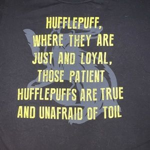 *free w purchase* Harry Potter, Hufflepuff Tee